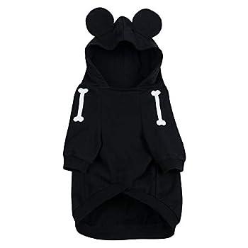 Disney Mickey Mouse Skeleton Costume for Dogs Size MED PET Black