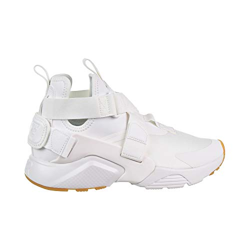 NIKE Air Huarache Run Zapatillas de Deporte Unisex, Color Blanco, Talla 5