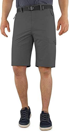 normani Softshell Shorts Kurze Bermuda Funktionshose für Herren S - XXXXL Farbe Anthrazit Größe XL