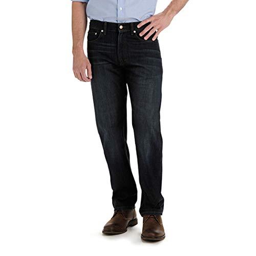 Lee Herren Big & Tall Custom Fit Relaxed Straight Leg Jeans, Bowery, 42W / 32L