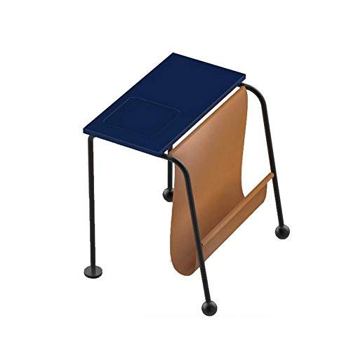 N/Z Tägliche Ausrüstung Massivholz Quadrat Tisch Sofa Beistelltisch Schlafzimmer Couchtisch Pu Nachttisch 46 * 43,2 * 50 cm