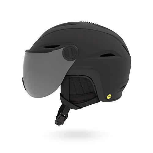 Giro Snow Unisex - Volwassenen VUE MIPS Skihelm, mat zwart, XL
