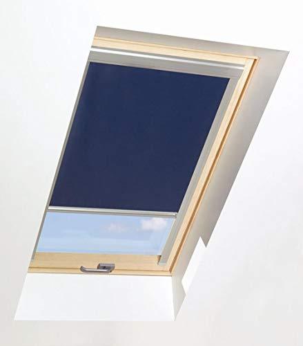 Beiges Verdunkelungsrollo für Dachfenster 66/118 | Kompatibel mit Dachfenster von FAKRO, Aron und OptiLight