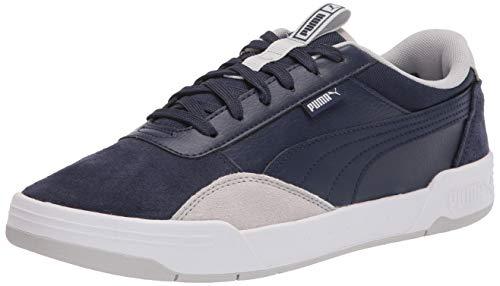 PUMA Men's C-Skate Sneaker, Peacoat-Peacoat-Gray Violet, 13