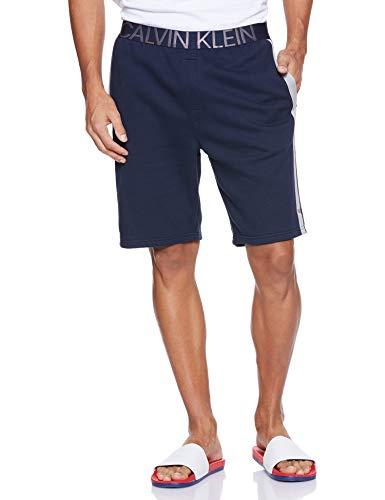 Calvin Klein Sleep Short (15E) Pantalones Cortos, Azul (Shoreline), L para...