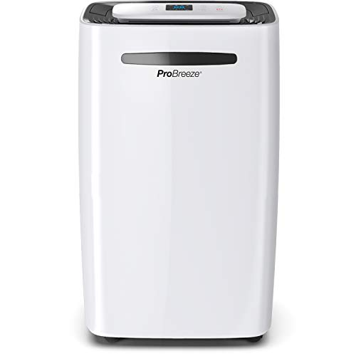 Pro Breeze Deshumidificador 20L, Pantalla Digital, Drenaje C