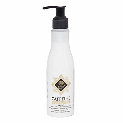 Skin Elements  Rejuvenating and Energising Body Lotion with Caffeine and Shea Butter,...