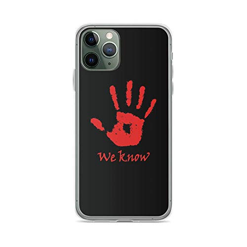 Phone Case Dark Brotherhood Mysterious Note We Know Skyrim Elder Scrolls Compatible with iPhone 6(+/S/S+) 7/+ 8/+ X,XS,XR,XS-MAX 11(Pro,Pro Max) TJ SS S9/Plus S10/Plus S20/Plus/Ultra