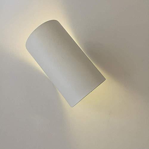 Wandlamp sfeer, uitnodigende hoek van de muur Sconces de harmonische hoofdlichtbron in een harmonieus design van de moderne toepassing van de LEGO + PVC + ijzeren wandlamp Wit.