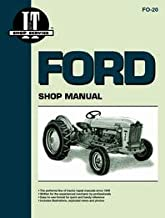 Ford 2000 Tractor Service Manual (1962-1964) (4 Cylinder) (IT Shop)