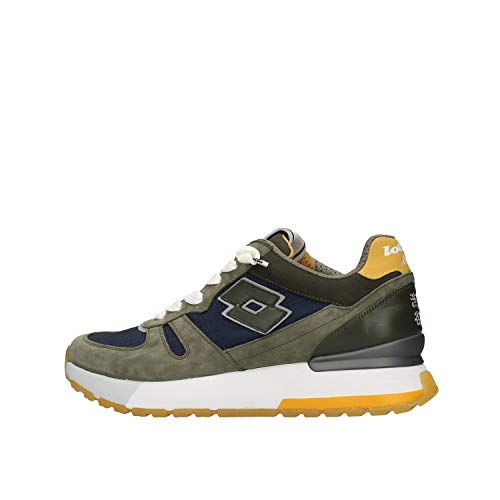 Lote Tokyo Shibuya 214024 Sneakers con cordones suede/nailon para hombre Size: 42 EU
