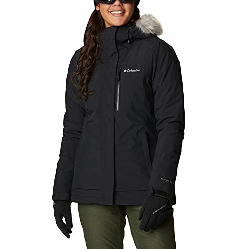 Columbia AVA Alpine Insulated Chaqueta De Esquí con Capucha, Mujer, Black, S