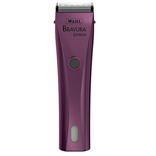Wahl Professional Animal Bravura Pet, Dog, Cat, and Horse Corded / Cordless Clipper Kit, Purple...