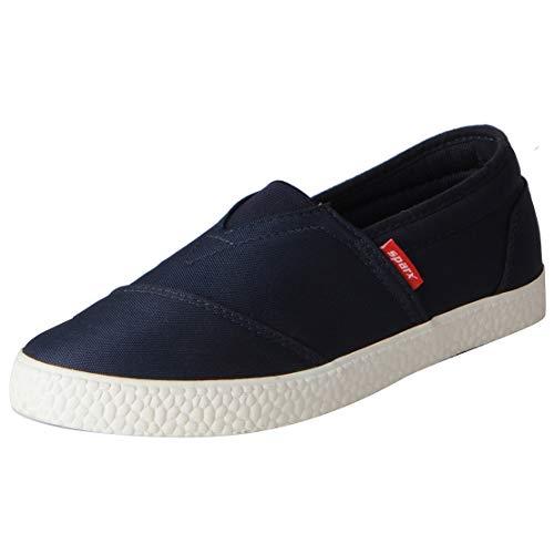 Sparx Men's SM-385 Navy Blue Beige Sneaker-6 UK (SC0385GNBBG0006)