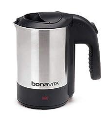 commercial Bonavita 0.5L mini kettle, stainless steel travel tea kettle
