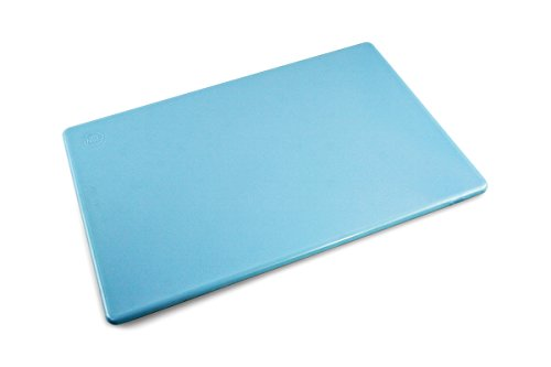 Commercial Blue Plastic Cutting Board Extra Large for Fish, 24 x 18 Inch