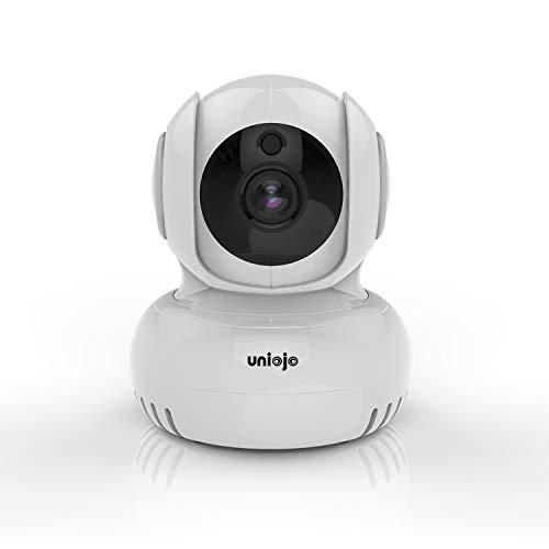 ネットワークカメラ ベビーモニター ペットカメラ 防犯監視カメラ 室内カメラ wifiカメラ Alexa対応 360°全景監視 全日録画 暗視撮影 双方向音声 動体検知 警報通知 2.4GHz WiFi 強化 遠隔操作 スマホ パッド対応 猫 犬 子供 老人見守り クラウド保存(7日間無料体験) 日本語APP日本語説明書 UNIOJO