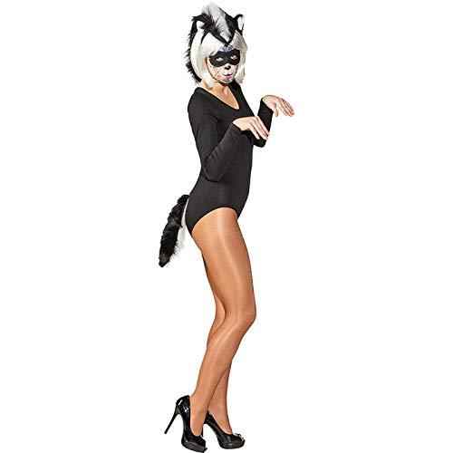 WOOOOZY Kostüm-Set Stinktier, 3-teilig