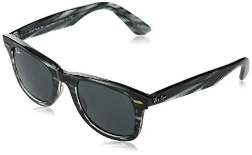 Ray-Ban 0RB4340 Gafas, STRIPED BLUE HAVANA, 50 Unisex