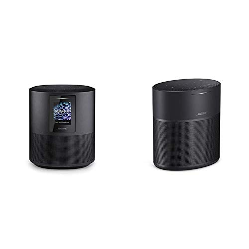 Bose Home Speaker 500 with Alexa Voice Control Built-in, Black & Home Speaker 300, with Amazon Alexa Built-in, Black
