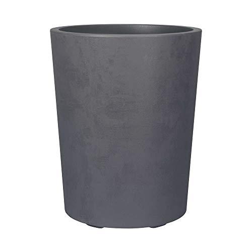 DEROMA VASI E FIORIERE Vase Millennium ø 43,5x53,3h anthrazit