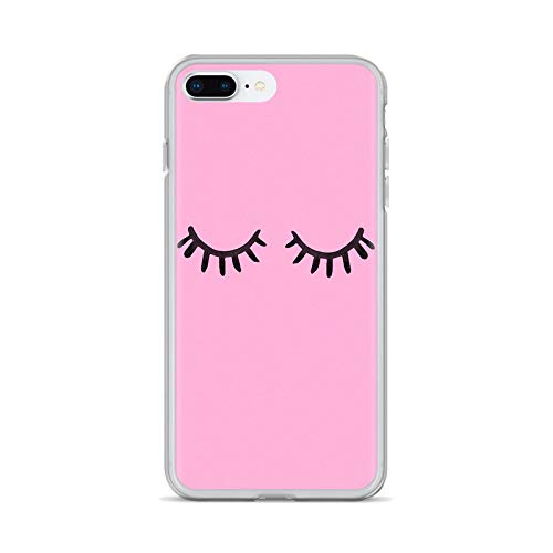eyelash Pattern Girls Makeup Soft Cases Cover For iPhone iPod Touch 11 12 Pro 4 4S 5 5S SE 5C 6 6S 7 8 X XR XS Plus Max 2020-images 10-For iPhone 12Pro Max