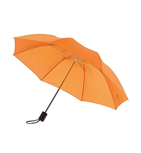 Regenschirm Taschenschirm in orange