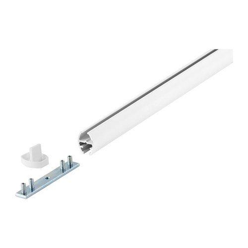 Ikea KVARTAL Gardinenschiene in weiß; 1-läufig; (140cm)
