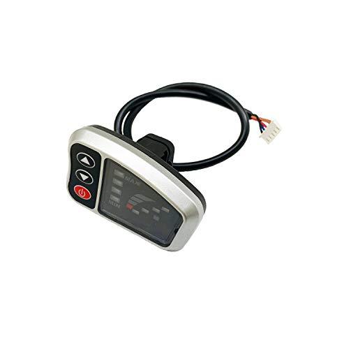 Nother BOORX E-Bike Pedelec Tianneng LED4 Display 24V/36V 250W Mifa Cyco Curtis Vaun Zündapp Bildschirm für die Geschwindigkeitssteuerung,Ersetzen