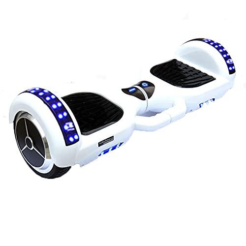 yishan Patín Eléctrico Auto Equilibrio,Patinete Electrico Auto Equilibrio 7 Pulgadas con Bluetooth,...