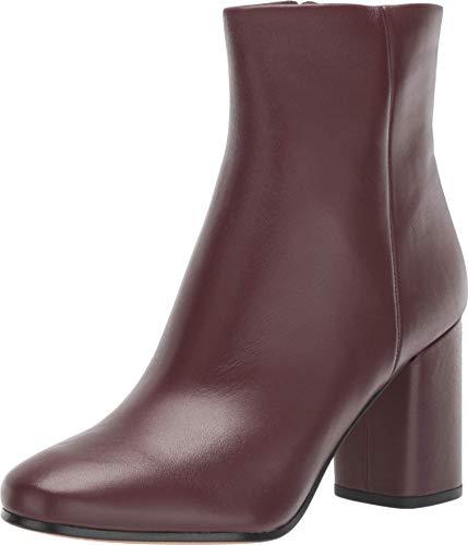 Diane von Furstenberg Robyn Burgundy/Linen Leather 7.5 M