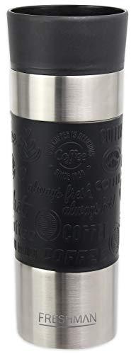 FRESHMAN filo | Auslaufsicherer Thermobecher 500ml mit 360° Trinköffnung | Kaffeebecher to go Thermo Coffee to go Becher Kaffee Thermosbecher to go Thermobecher Kaffee to go Becher Thermoskanne 0,5l