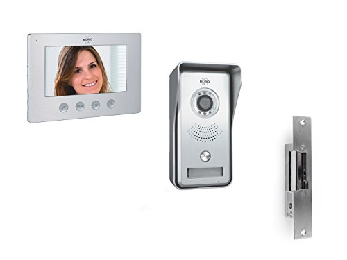 ELRO IP Videotürsprechanlage mit 7 Zoll Monitor & Türöffner, Bedienung per Smartphone App