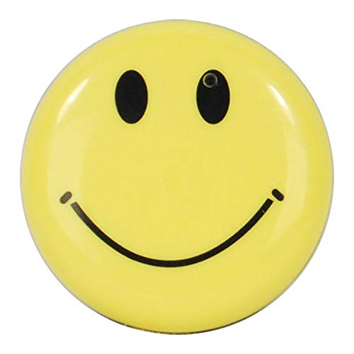 Safety Technology HC-SMILE-DVR Mini Clip On Smiley Face Button Spy Hidden Camera with Built in DVR
