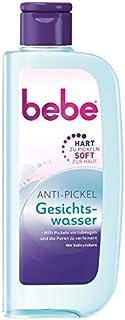 bebe Anti-Pickel Gesichtswasser - Hilft Pickeln vorzubeugen und die Poren zu verfeinern - Mit Salicylsäure - 1 x 200ml