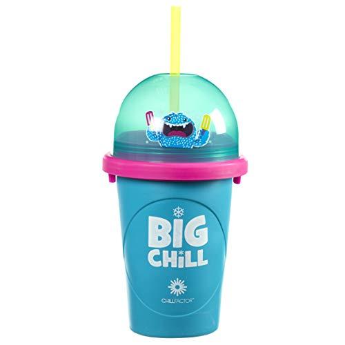 Chillfactor Chill Factor Monster Slushy Maker-Figura Decorativa, diseño de Monstruo, Multicolor (Funtastic CF0081A3)