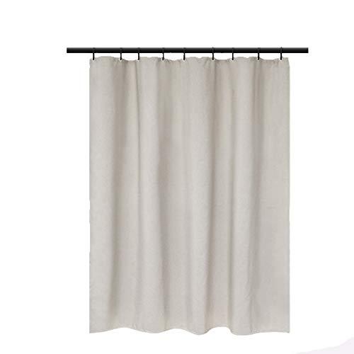 Shower Curtains Badezimmer Duschvorhang Trennwand Vorhang mit wasserdichter und Mehltau Verdickung ist geeignet for Bad Toilette (Color : Pink)