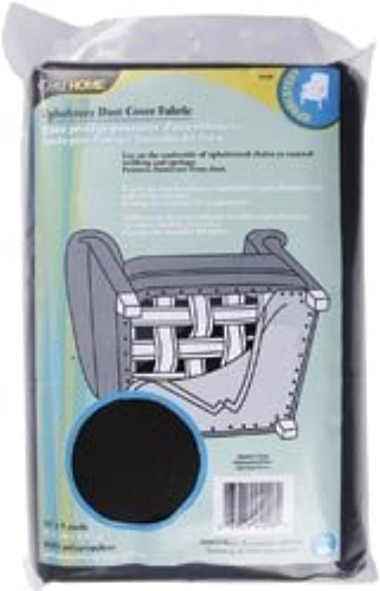 Bulk Buy: Dritz Sewing Dust Cover Upholstery Fabric 36'X5 Yards Charcoal (3-Pack)
