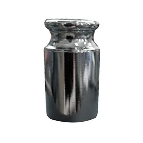 Idyandyan 100 g de Peso de calibración de Acero al Carbono con Zinc Metal Peso de calibración Peso de Chapado de calibración para Las balanzas eléctricas