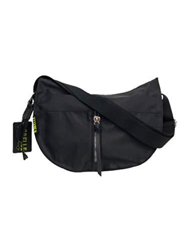Rebelle Diana Nylon Hobo Schultergurt schwarz Damen, StyleName Standard, Schwarz Einheitsgröße