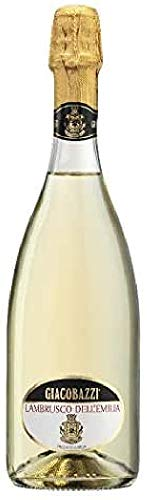 Giacobazzi Lambrusco Emilia IGT Bianco - 6 Paquetes de 750 ml - Total: 4500 ml