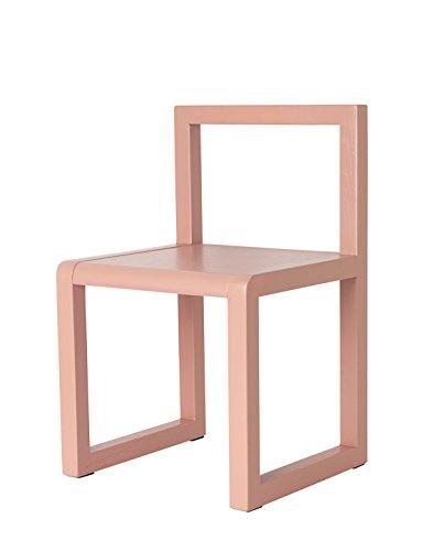Ferm Living Little Architect Kinderstuhl, rosa BxHxT 32x51x30cm