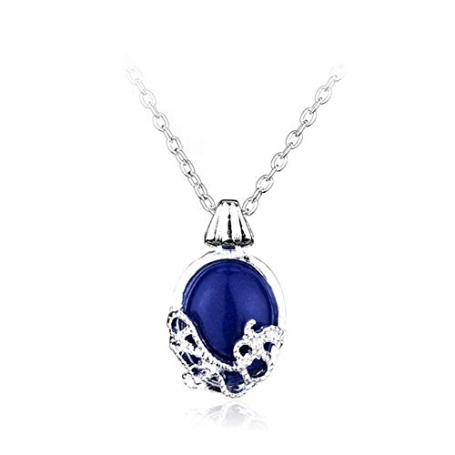 chenran Gift Pendent Charm Necklace Nature Stone Fashion Pendants Cool Necklaces Movie Jewelry Accessories (Metal Color : Xl0088)