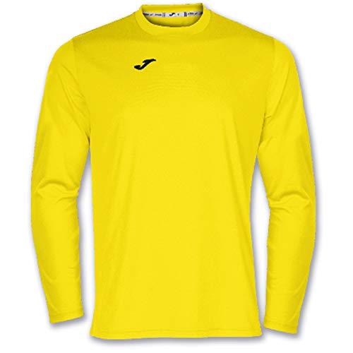 Joma Combi Camisetas Equip. M/L, Hombre, Amarillo