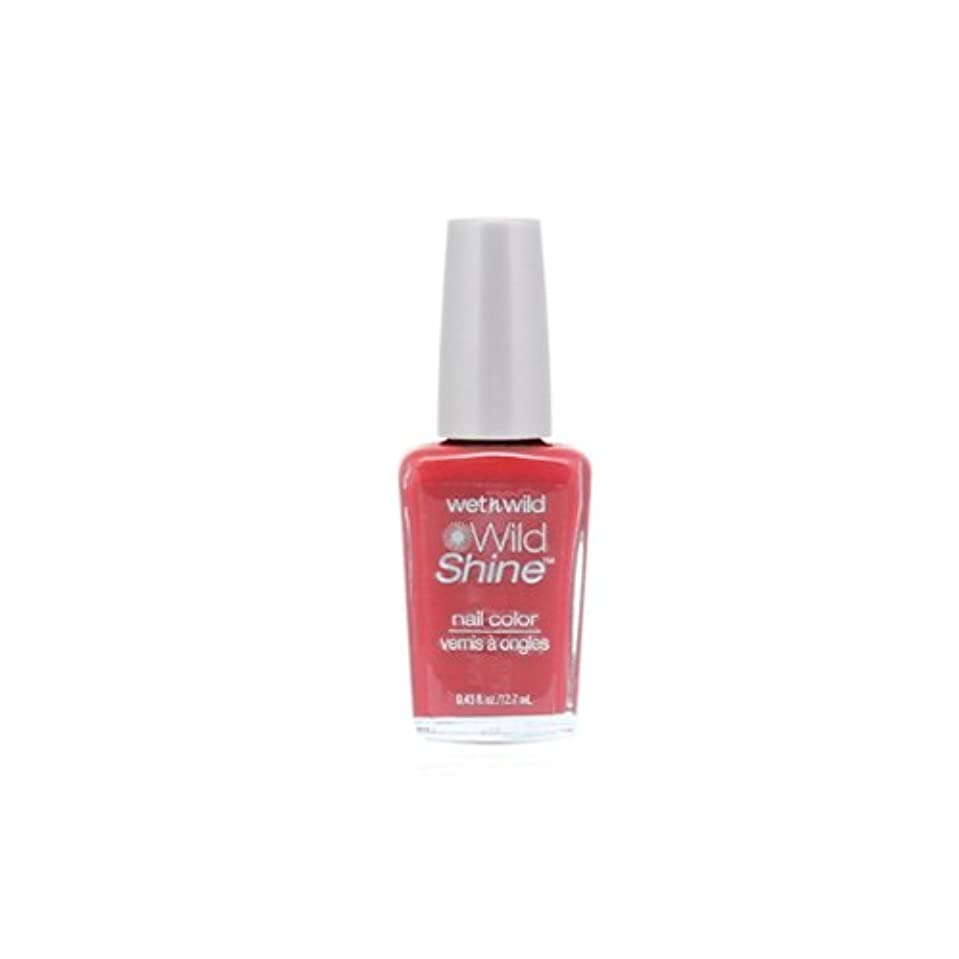 足枷ピンク分割WET N WILD Wild Shine Nail Color - Casting Call (DC) (並行輸入品)