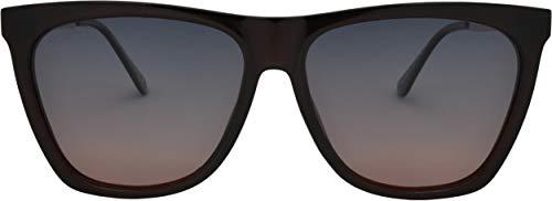 SQUAD Gafas de sol polarizadas Para Unisex adulto, Cuadradas Fashion última moda, 100% protección UV400, Gafas ligeras con Patillas de Metal