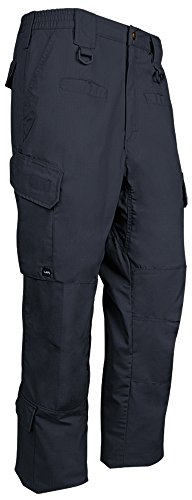 LA Police Gear Men's Water Resistant Operator Tactical Cargo Pants with Lower Leg Pockets - Navy - 28 x 32