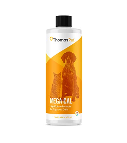 Thomas Labs Mega Cal - High Calorie Supplement for Dogs & Cats - Provides Energy & Nutritional Support - (16 Fluid Ounces)