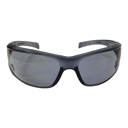 Preisvergleich Produktbild Very Light (Approx.26g); Also Available with Lens Tint to Prevent Sun Glare. Secure Fit of The Safety Glasses; Increased Comfort; Unisex Design Gray