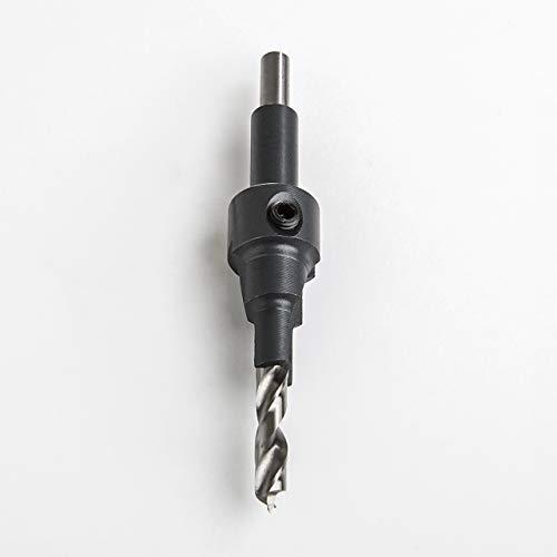 Högert Bohrer für Möbelverbindungsschrauben Confirmat Schrauben Korpusverbinder Bohrer-Durchmesser 5,0 mm